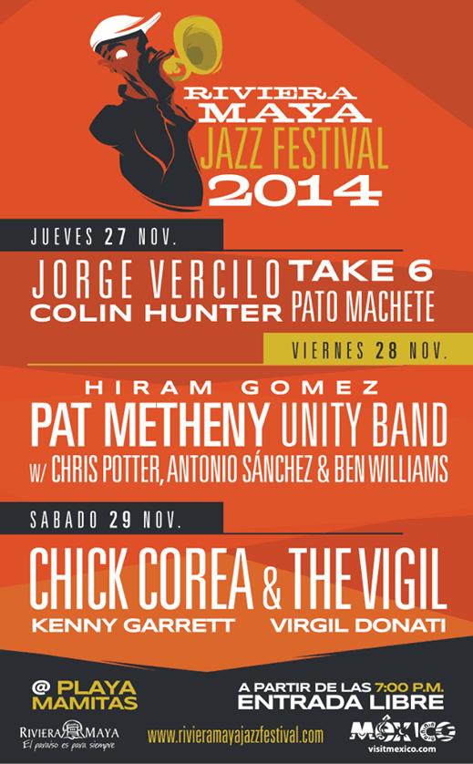 Riviera Maya Jazz Festival 2014